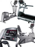 Silver 3 pieces set Life Fitness