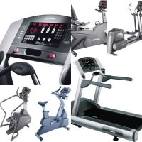 Silver 10 pieces set Life Fitness