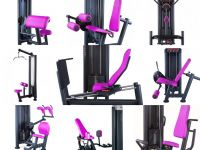 9 women strength machines set Panatta
