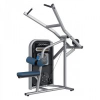 Lat pulldown TCPD Life Fitness