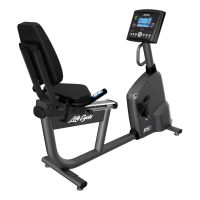 Vélo allongé RS1 GO Life Fitness