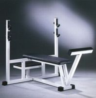 Banc horizontal prise large P010 Technogym