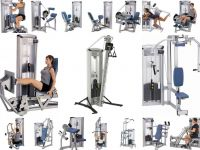 Lot musculation 22 postes Cybex