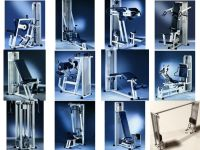 16 strength machines set Technogym